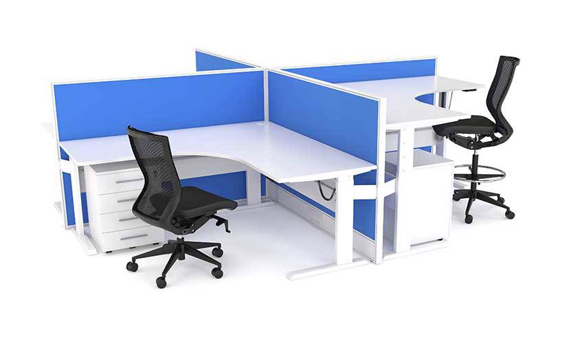 Axis Electric 4POD Workstations Cluster Setting