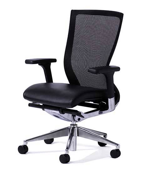 Balance Executive Black Black PU Arms FL