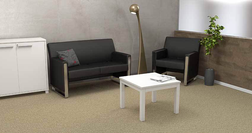 Waiting Area with Metropol Chair and Axis Coffee Table